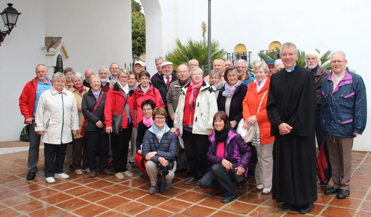 Reisegruppe Andalusien 2015