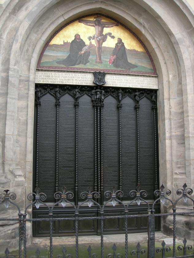 Thesentür Schloßkirche Wittenberg