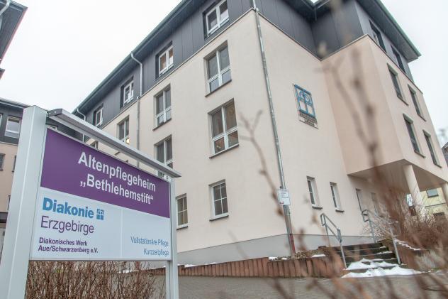 Zwönitzer Altenpflegeheim »Bethlehemstift« Corona