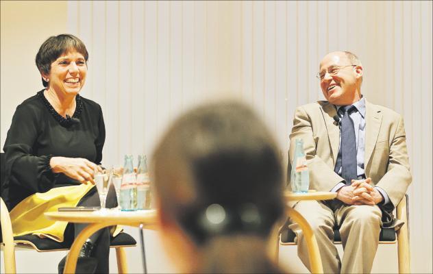Gregor Gysi und Margot Käßmann