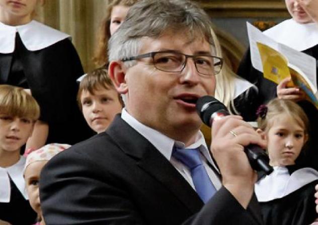 Meißner Domkantor Jörg Bräunig
