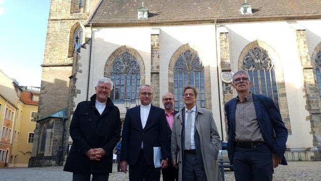 EKD-Räte, Landesbischof, Bautzen, Heinrich Bedford-Strohm, Markus Dröge, Carsten Rentzing, Tilmann Popp, Michael Ramsch