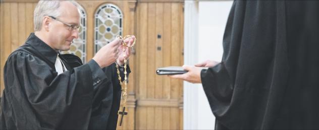 Bischof Rentzing Verabschiedung Martin Luther Kirche Dresden