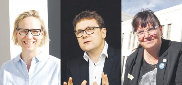 Wendekinder Katharina Göring, Timo Meynhardt und Kerstin Kinszorra