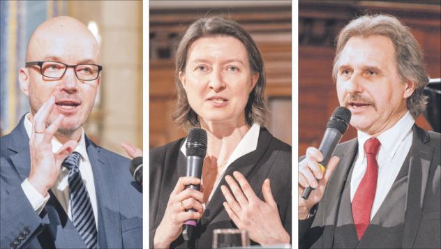 Tobias Bilz, Ulrike Weyer, Andreas Beuchel, Bischofskandidaten, Landesbischof, Wahl
