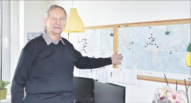 Günter Grünewald, Reisemission, Leipzig, Geschäftsführer, Reiseziele
