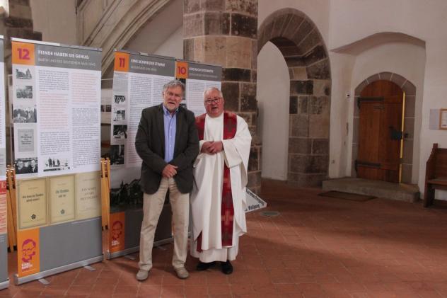 Schneeberg, Frank Meinel, Dialog-Predigten, Cranach, Cranach-Altar