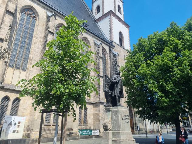 Thomaskirche Leipzig, Leipzig, Turmaufstieg