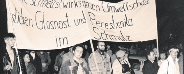 Umweltsituation in der DDR
