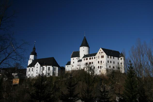 Schwarzenberg, Erzgebirge, Freie Republik, Unbesetzte Zone