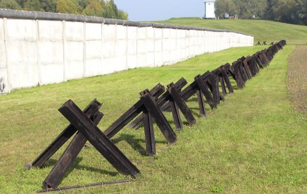 DDR, Mauerfall, innerdeutsche Grenze, Duderstadt, Todesstreifen