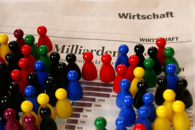 Zahl der Kirchenmitglieder in Deutschland