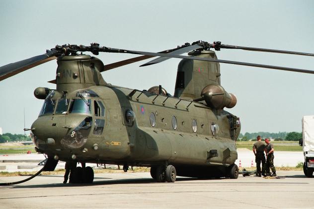 Hubschrauber Militär Ausgaben gestiegen