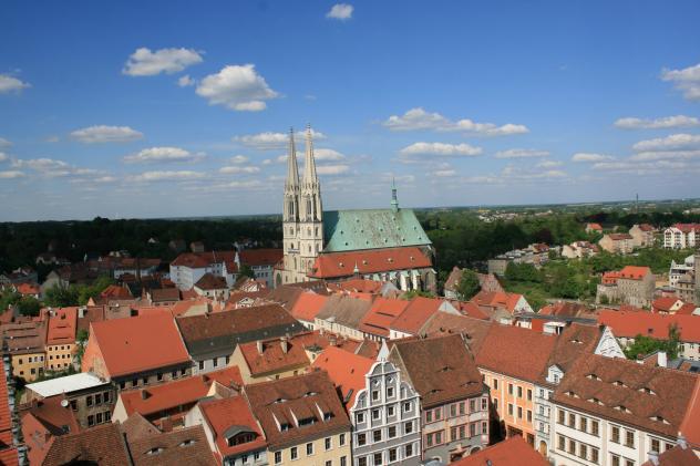 Görlitz Panorama Lausitzkirchentag Corona