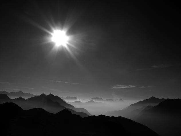 Depression Sonne