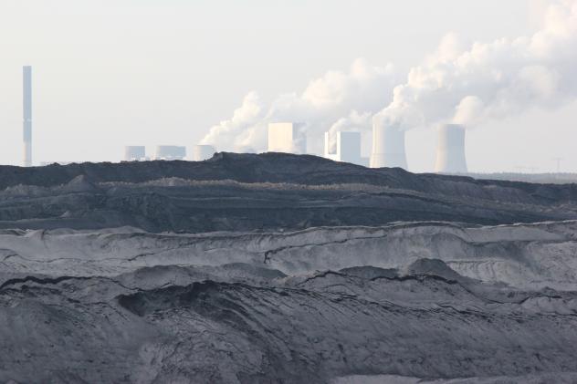 Kraftwerk Boxberg und Tagebau Reichwalde