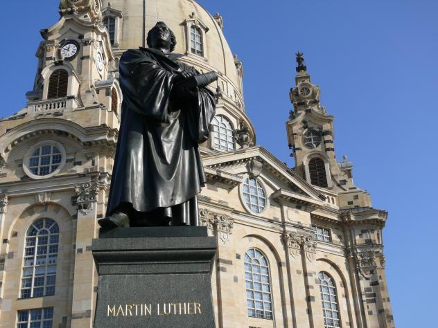 Frauenkirche Dresden Luther
