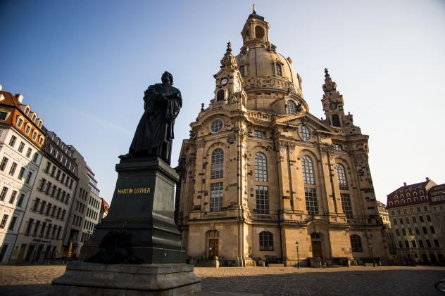 Frauenkirche, Dresden, Kreuzkirche Dresden, Glockenläuten,