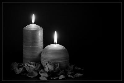 Gedenken Kerzen