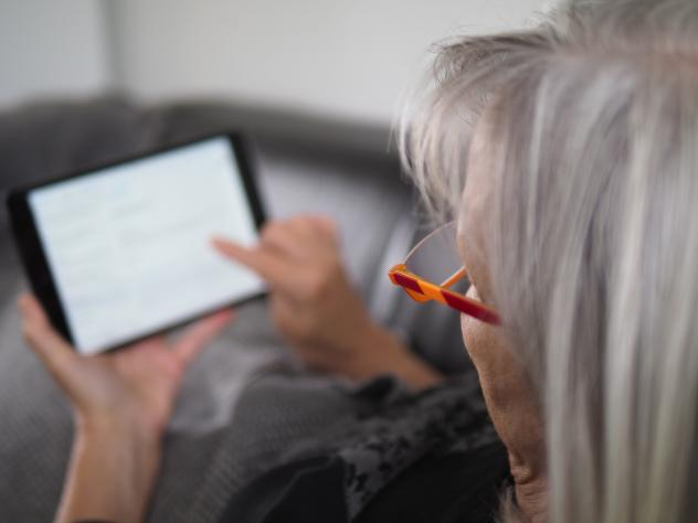 Kirche digital online Tablet