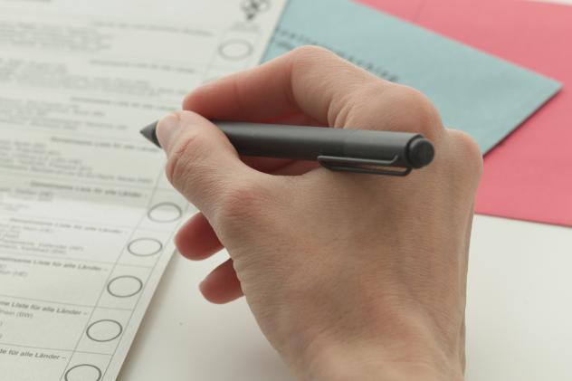 Wahl Europawahl Landtagswahl Sachsen