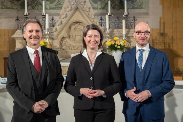 Landesbischof-Wahl Andreas Beuchel, Ulrike Weyer, Tobias Bilz