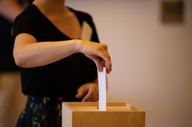 Wahlurne, Landessynode