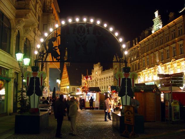 Sachsen Weihnachtsmärkte Bergparaden