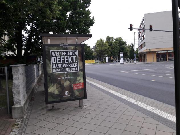 Plakat Bundeswehr Ausbildung