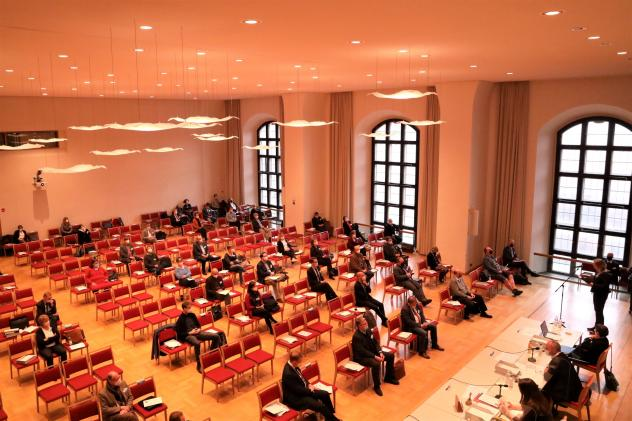 Landessynode, Haus der Kirche, Dresden, Corona