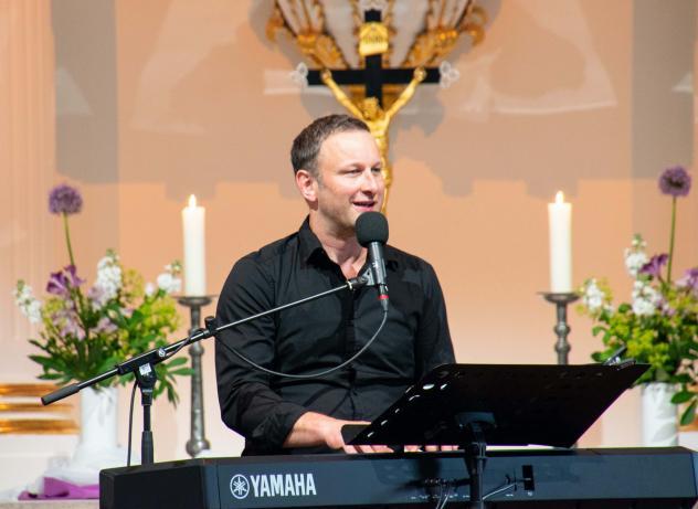 Andi Weiss, Konzert, Kirche