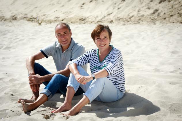 Margot Käßmann und ihr Lebenspartner Andreas Helm