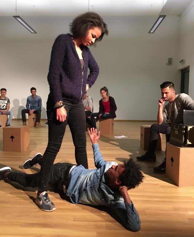Theaterprojekt »Glaube – Liebe – Hoffnung«