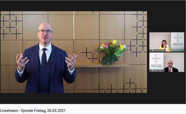 Landessynode, Bischofsbericht, Tobias Bilz