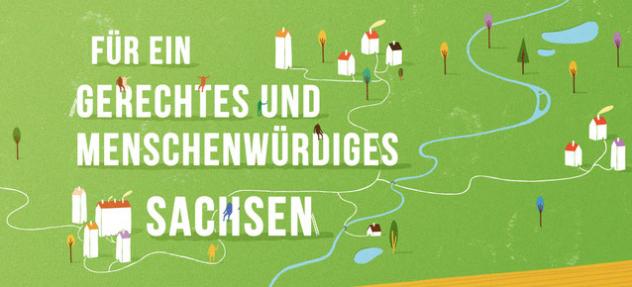 Bündnis aus mehr als 40 Organisationen an die Verantwortung der Wählerinnen und Wähler in Sachsen