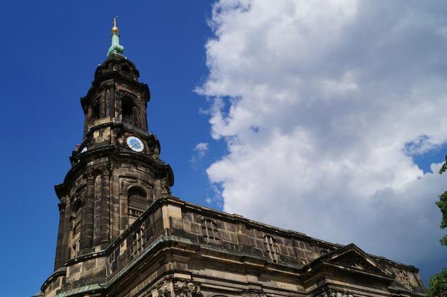 Kreuzkirche Dresden Fernsehen
