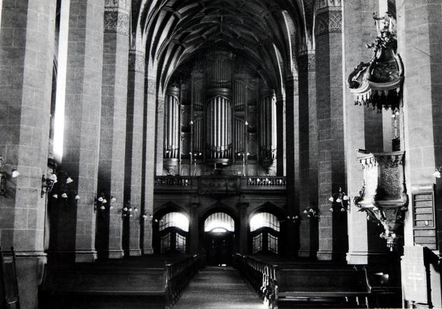 Paulinerkirche vor der Sprengung