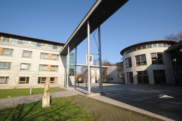 Evangelische Hochschule Moritzburg, deren Träger auch der Verein Diakonenhaus Moritzburg ist. Foto: Giersch