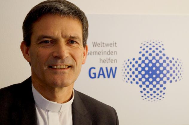 Pfarrer Enno Haaks ist Generalsekretär des Gustav-Adolf-Werks. Foto: GAW