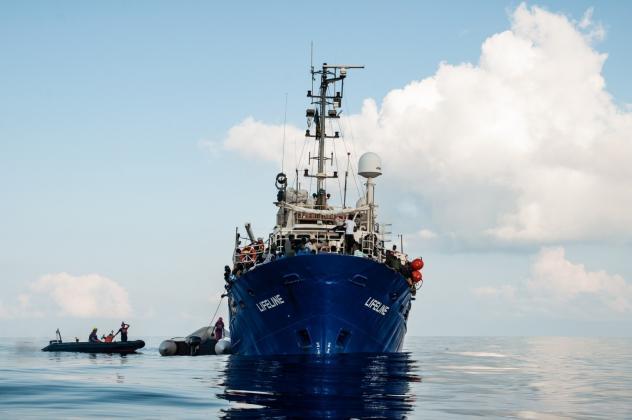 Rettungsschiff von Mission Lifeline