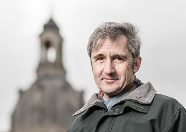 Der Dresdner Frauenkirchen-Geschäftsführer Frank Richter