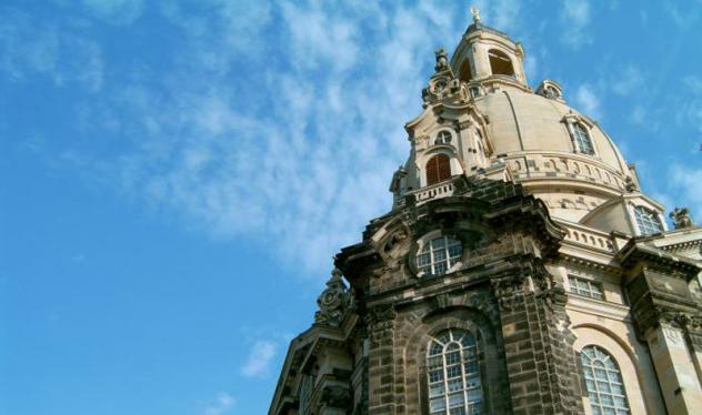 Dresdner Frauenkirche, Heinrich Bedfort-Strohm, Kuppel