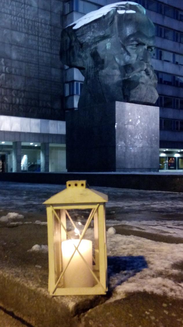 Friedenslicht Chemnitz Nischel
