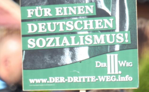 Der III. Weg, Neonazis, Zwickau, Wahlplakate