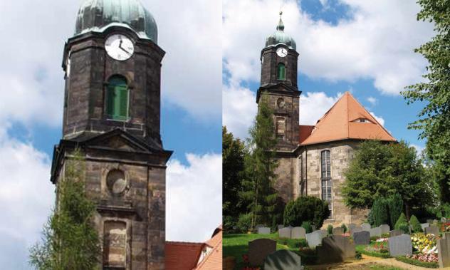Kirche Lohmen Sachsen