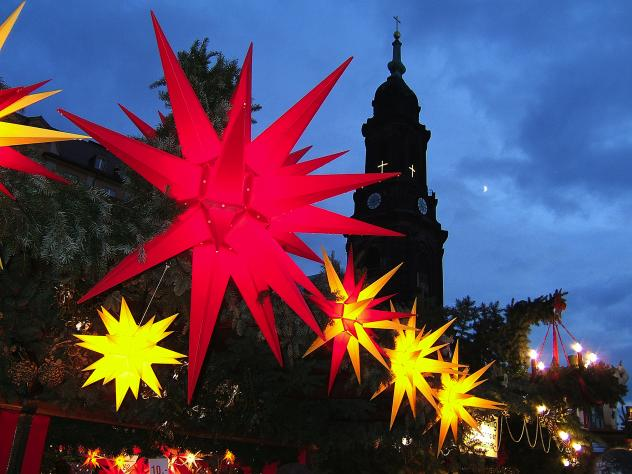 Kreuzkirche Dresden Herrnhuter Stern