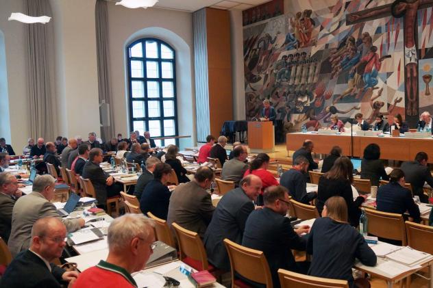 Landessynode Plenum Synodale Sachsen Haus der Kirche Dreikönigskirche Dresden