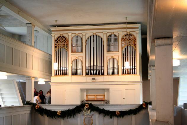 Orgel Langenwolmsdorf Stolpen