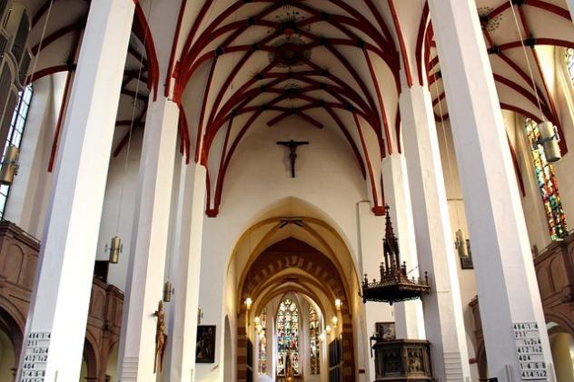 Thomaskirche ohne Thomaner Weihnachten 2020 Corona