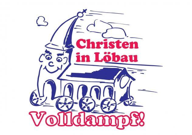 Mit extra Logo für Löbau © Kirchgemeinde Löbau